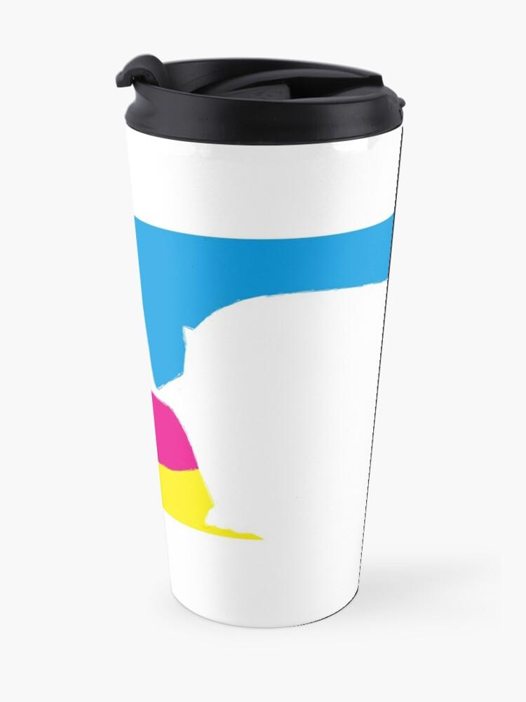 Alternate view of quadricromia quattro Travel Mug