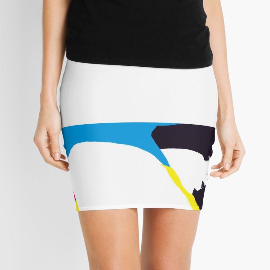 quadricromia quattro Mini Skirt