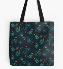 Midnight florals - 01 Tote Bag