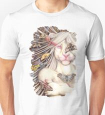 just another butterfly - white lioness furry /anthro Unisex T-Shirt