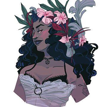 Flower Witch by FionaCreates72