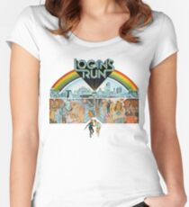 Logan's run Women's Fitted Scoop T-Shirt