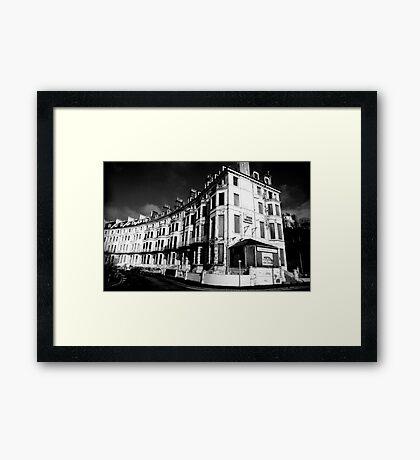 the pier hotel Framed Print