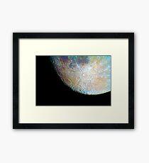 lunar south region Framed Print