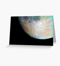 lunar south region Greeting Card