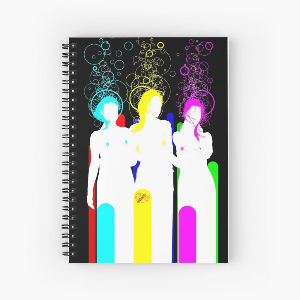 quadricromia c Spiral Notebook