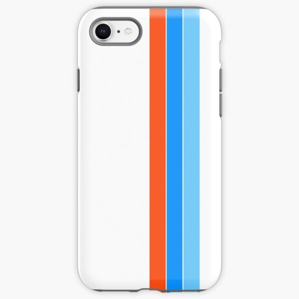 racing stripes iPhone Tough Case