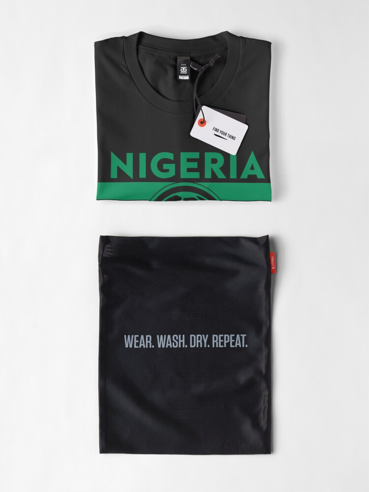 Alternate view of Nigeria Soccer Jersey Shirt Nigerian Super Eagles World Cup Football Premium T-Shirt
