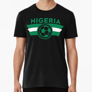 202b29e3fb1 Nigeria Soccer Jersey Shirt Nigerian Super Eagles World Cup Football ...