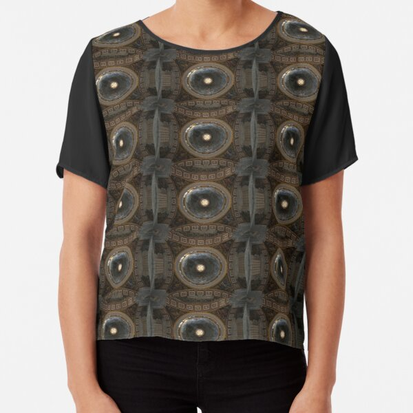 Under the dome of the ancient temple Chiffon Top