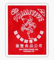 Primitive X Huy Fong Sticker