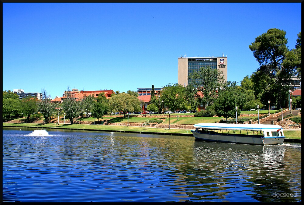 Popeye on the Torrens by docseed