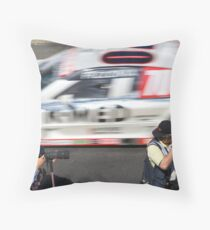and...action! Throw Pillow