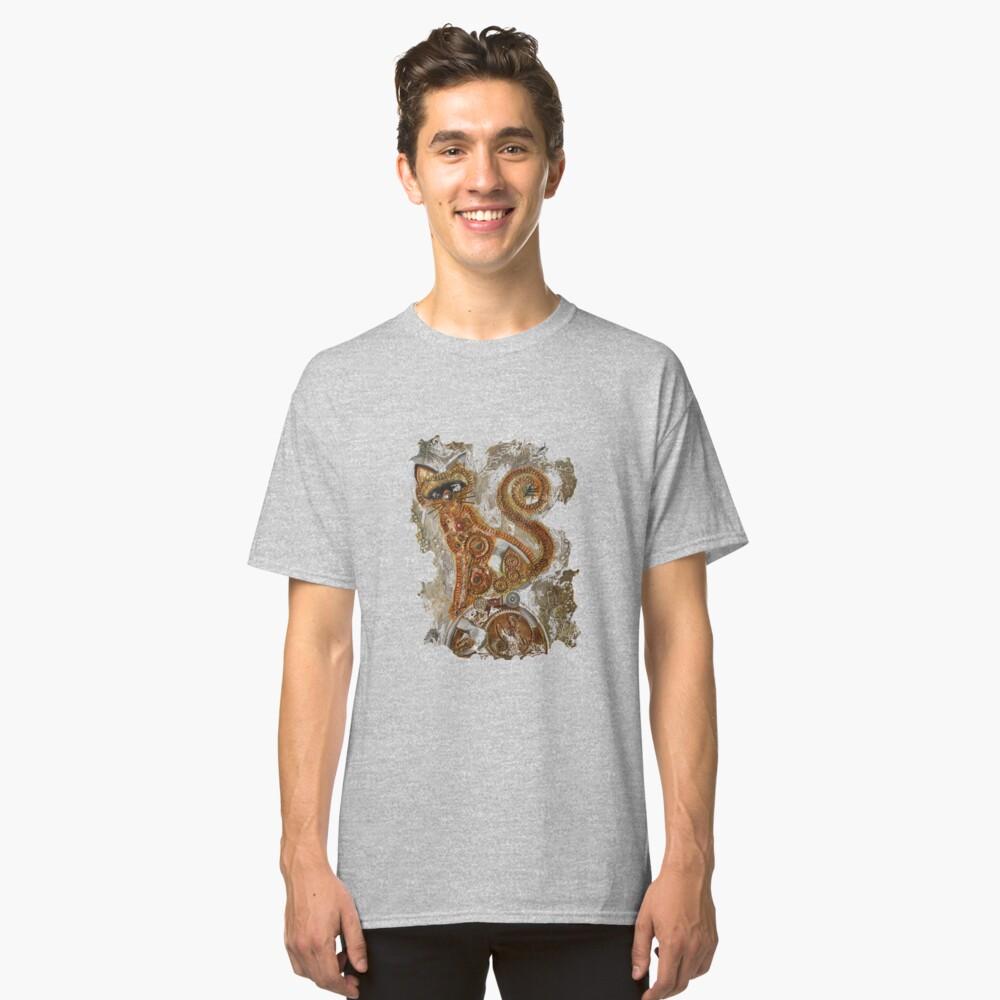 CRAZY STEAMPUNK CAT Classic T-Shirt