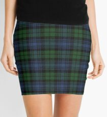 Black Watch Ancient  Original Scottish Tartan Mini Skirt