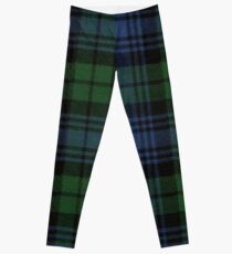 Black Watch Ancient  Original Scottish Tartan Leggings