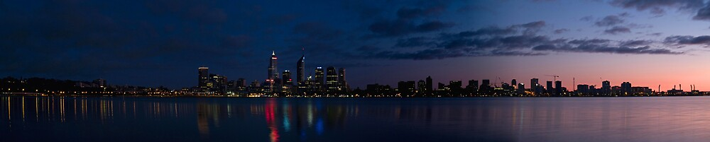 Perth City by Adrian Lord