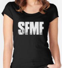 SFMF American Veteran US Military USA Women's Fitted Scoop T-Shirt