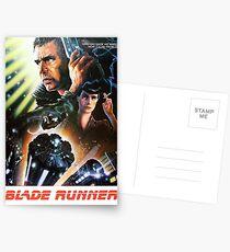 Blade Runner Film Shirt! Postkarten