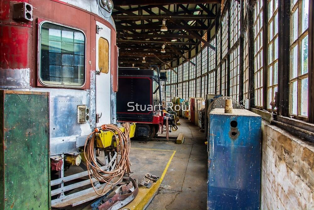 Cowra Rail Heritage Centre Rounhouse by Stuart Row