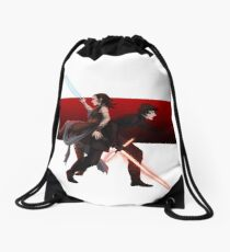 Praetorian guard fight scene Drawstring Bag