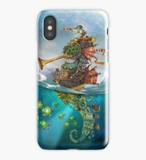 The Frog Prince at sea iPhone Case/Skin