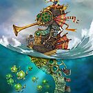 The Frog Prince at sea by Tom Parker