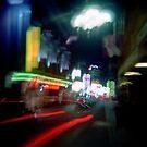 Chinatown blur by Leanne Smith