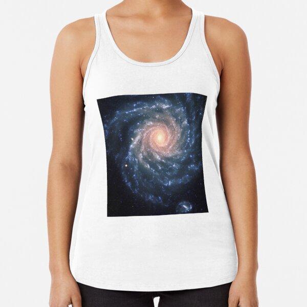 #Spiral #Galaxy #SpiralGalaxy #MilkyWay , Astronomy, Cosmology, AstroPhysics, Universe Racerback Tank Top