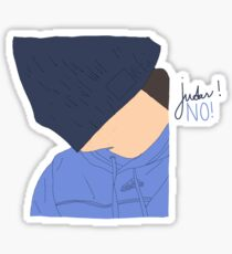 Judas! NO! Sticker
