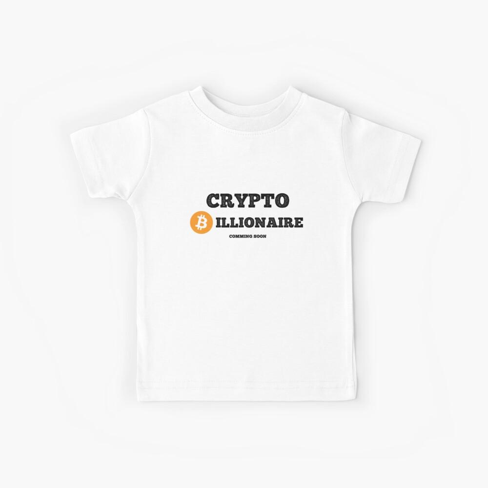 Krypto-Milliardär - Bitcoin-Ausgabe Kinder T-Shirt
