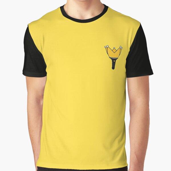 BIGBANG LIGHTSTICK BLACK Graphic T-Shirt