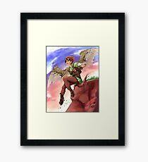 The Inventive Satyr Framed Print