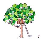 Tree House by tiffjamaica