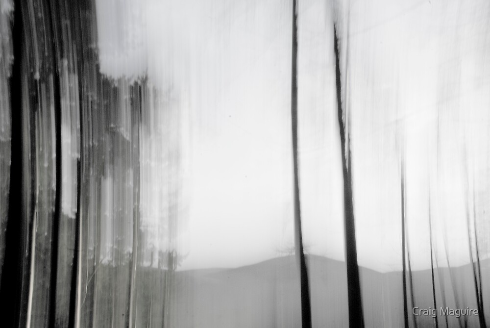 Abstract landscape by Craig Maguire