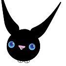 Black Bunny von Simonella