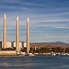 Morro Bay Power Plant - Morro Bay,  California by Buckwhite