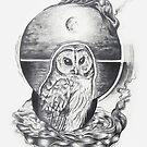 Barred Owl Medicine by Elyse Boardman