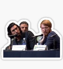 poe, hux and kylo walk into a bar Sticker