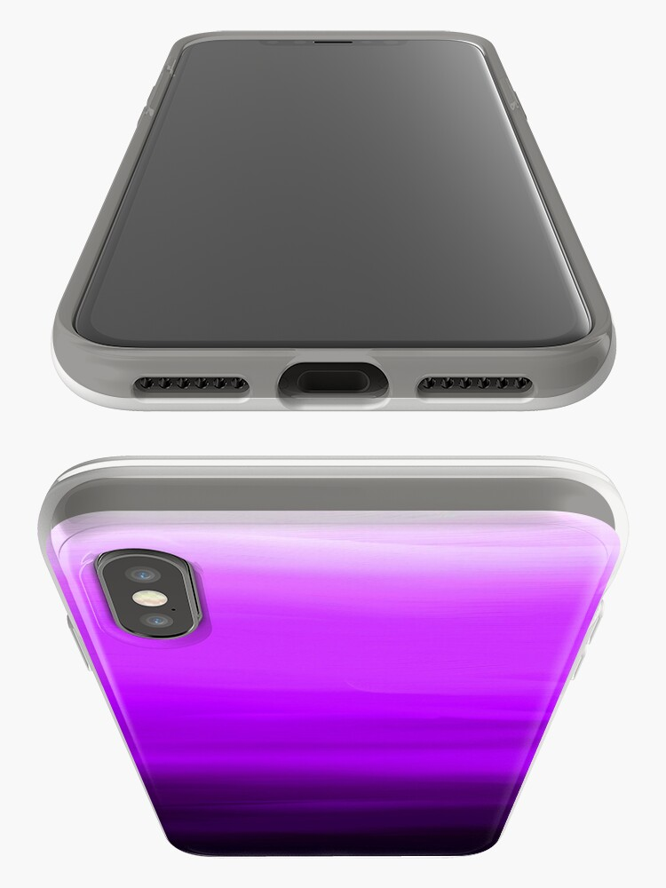 Alternate view of Shades of Purple iPhone Case & Cover