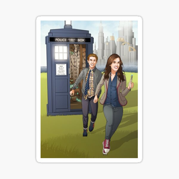 Fitzsimmons - Running Through Time and Space Sticker