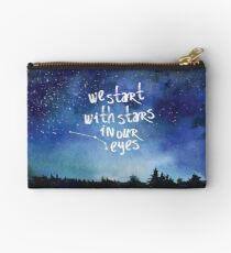 Stars In Our Eyes - Aries Studio Pouch