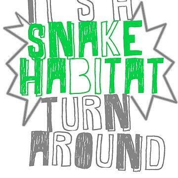 It's A Snake Habitat by winnie-time