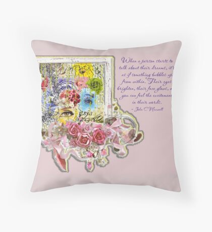 Dreams Bubble Throw Pillow