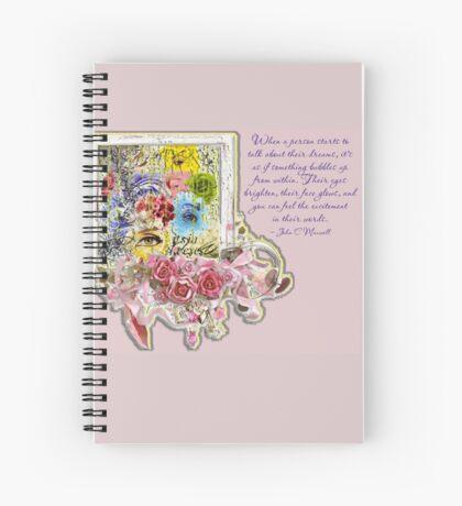 Dreams Bubble Spiral Notebook