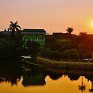 Sunset Over Hanoi pt2 by Lisa Williams