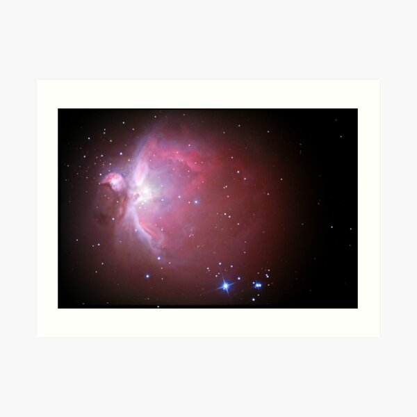 M42 nebula in orion Art Print