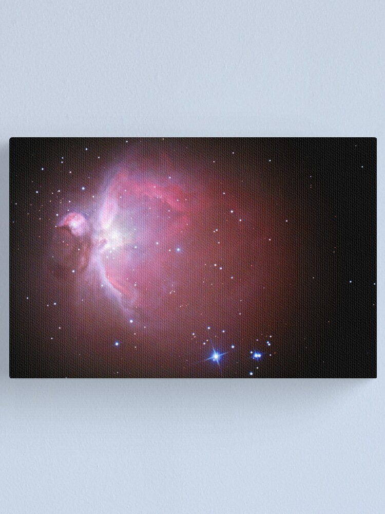 Alternate view of M42 nebula in orion Canvas Print