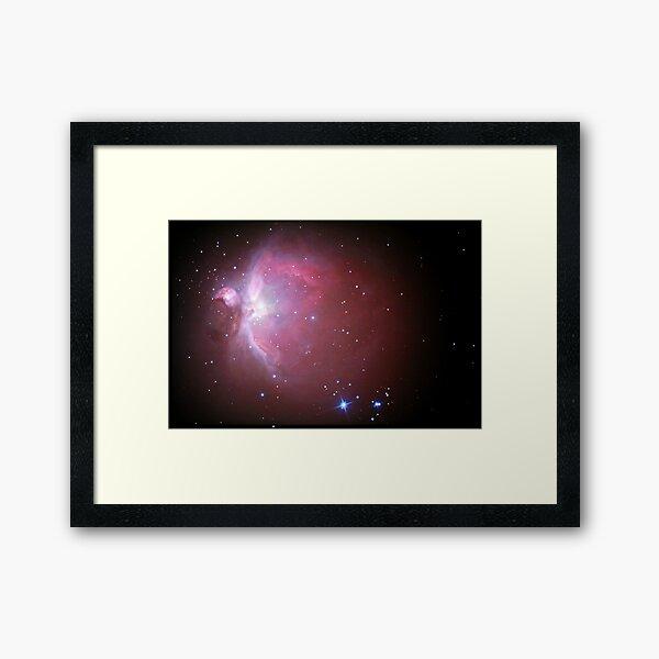 M42 nebula in orion Framed Art Print