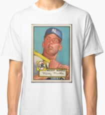 Mickey Mantle 1952 Classic T-Shirt